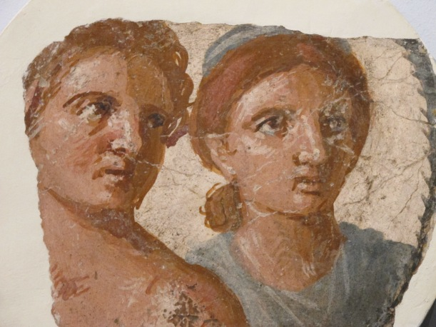 Un affresco in mostra al British Museum